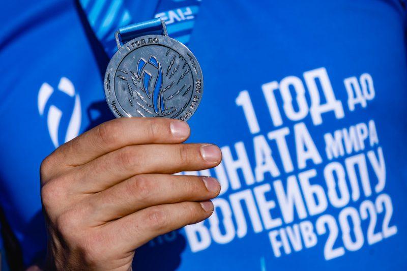 Rusia celebró un año antes del inicio de la Copa del Mundo: incluso patinadores artísticos y estrellas del mundo del espectáculo jugaban voleibol