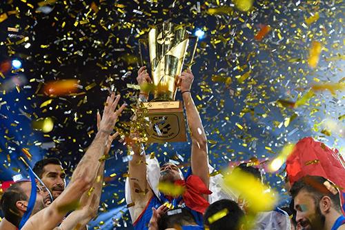 Calendario completo del Campeonato de Europa masculino de Voleibol